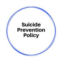 Suicide Prevention Policy