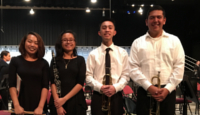 CCHS honor band students
