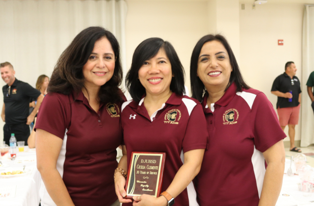 Mrs. DeLeon, Mrs. Clemente, and Mrs. Jawanda