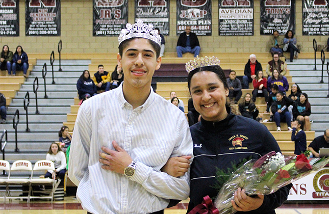 King Jesus Lopez and Queen Marina Cortez