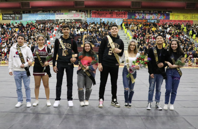 CCHS Winter Homecoming Royalty 2020