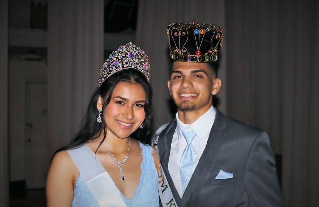 CCHS Prom Queen and King
