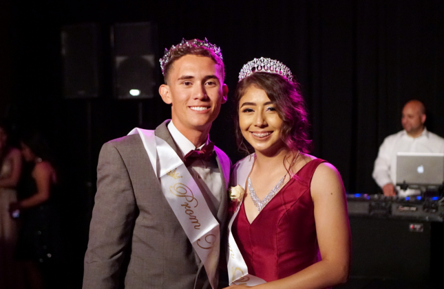 DHS Prom King and Queen
