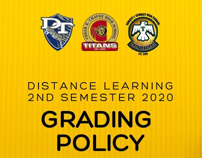 Distance Learning Grading Policy 2020