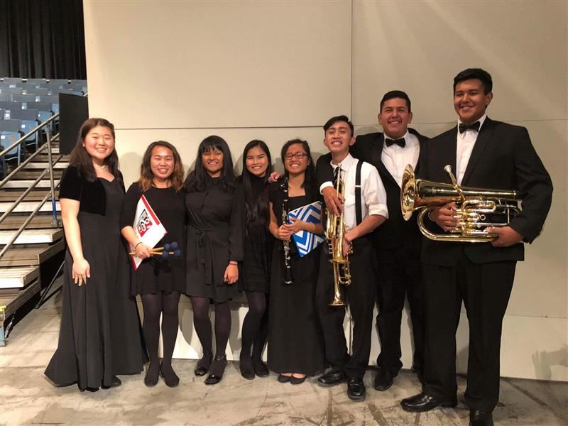 Honor Music Students