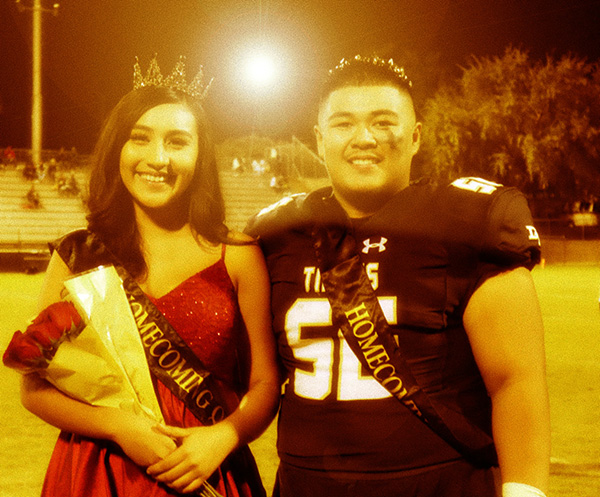 2019 Homecoming Queen and King