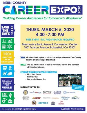 Kern Co Career Expo