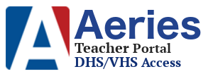 Aeries Teacher Portal @DHS/VHS