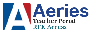 Aeries Teacher Portal @RFK